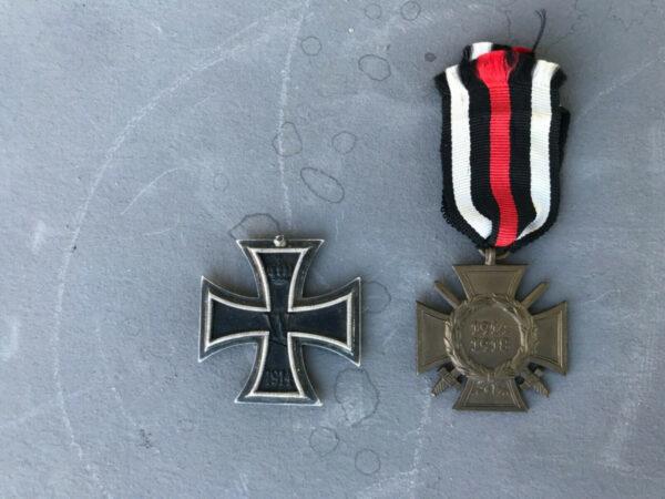 militaria Equipment Personal Items German WWI Original