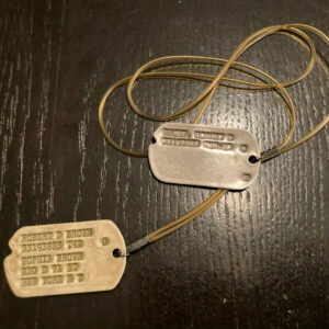 militaria Equipment Personal Items USA WWII Original