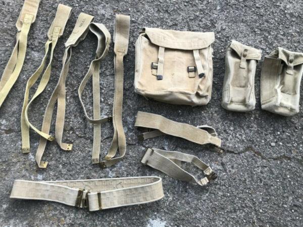 militaria Equipment Field Gear Commonwealth, Great Britain WWII Original