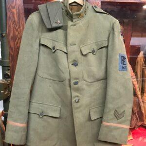 militaria Uniforms USA WWI Original