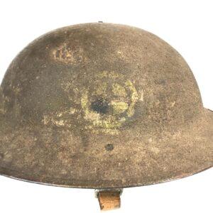 militaria Headgear Helmets USA WWI Original