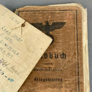 militaria Personal Items Paperwork German WWII Original